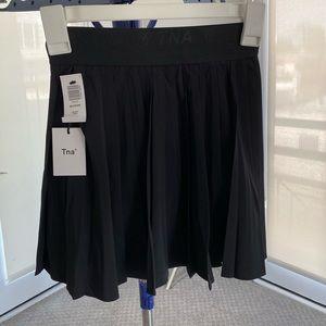 Nike black Tennis Pleated Skirt NWT